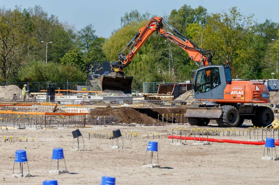 Bekijk live de bouw van het Isala Diaconessenhuis in Meppel